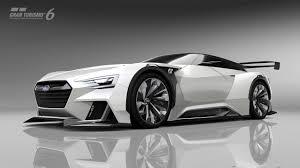 subaru cars black subaru viziv gt vision gran turismo revealed soon in your gt6