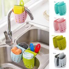 kitchen sink cabinet sponge holder green sink caddy sponge holder soap holder hanging basket