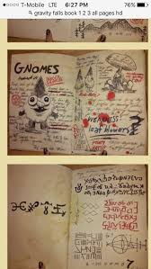 95 gravity falls book pages images