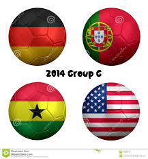 Portugal Football Flag 2014 Fifa World Cup Soccer Group G Nations Editorial Image