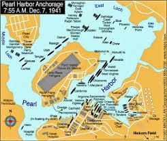 Anchorage Map Pearl Harbor Anchorage Map Dec 7 1941