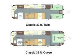 airstream trailer plans best travel trailer floor plans ideas on