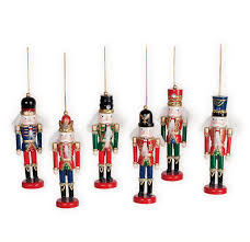 nutcracker wooden soldier ornaments 6 wooden soldier