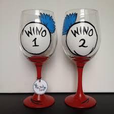 wino glass wino 1 wino 2 dr suess gift best friend