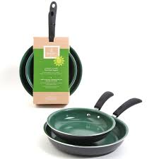 friendly home 2 piece fry pan set