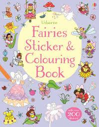 fairies sticker colouring book u201d usborne children u0027s books