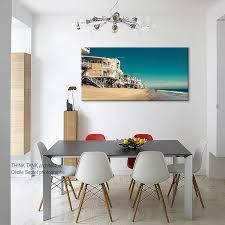 black friday sale malibu beach canvas art print personalized art