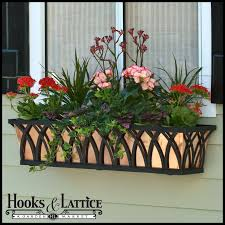 What To Plant In Window Flower Boxes - decorative window boxes decora wrought iron flower boxes hooks