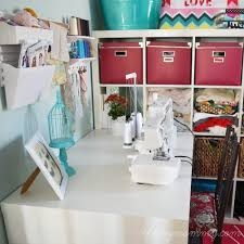 Pink Craft Room - my colourful craft room office u2013 our diy house the diy mommy