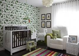 how to pick the right colors for a modern nursery design art