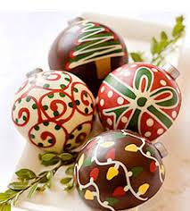 chocolate ornaments natal chocolate chocolate