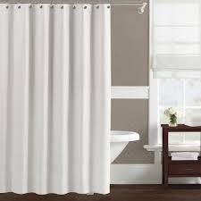 bathroom hookless shower curtain extra long hookless shower