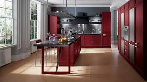 red kitchen cabinets red style kitchen design pictures for free