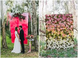 wedding backdrop trends top wedding trends for 2015