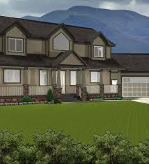 Hillside Walkout Basement House Plans Basement House Plans For The Lake Hillside House Plans Walkout