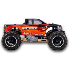 rampage mt v3 1 5 scale gas monster truck redcat blue