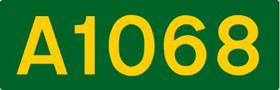 A1068 road