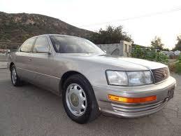 93 lexus ls400 sell used 93 lexus ls400 4 0l v8 sedan ls 400 xf10 ls 400 xf20