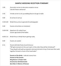 wedding schedule template new 2017 resume format and cv samples
