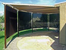 Patio Wind Screens by Santa Fe Awning Albuquerque Awning Las Cruces Awning Patio Covers
