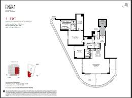 quantum on the bay floor plans faena house blintser group