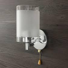 modern single head silver chrome indoor wall light lamp fittings