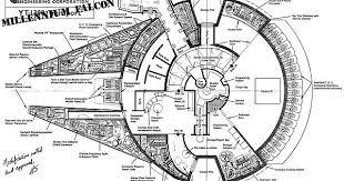 millenium falcon floor plan old millennium falcon floorplan imgur