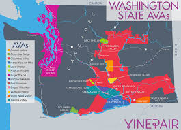 Oregon Winery Map by The Only Introduction You Need To Wine From Washington State