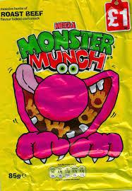 Halloween Monster Munch Cheeseburger Crisps U0026 Other Stories Mega Monster Munch Roast Beef