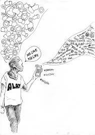 sketch illustration modern life 2 by om alwan on deviantart