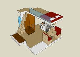 house plans with loft house plan with loft exploiting the spaces