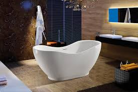akdy bathroom white color freestand acrylic bathtub az f290 akdy bathroom white color freestand acrylic bathtub az f290 amazon com