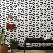 contemporary wallpaper self adhesive u0026 removable cb2