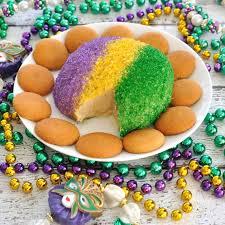 king cake for mardi gras king cake cheese for mardi gras dip recipe creations