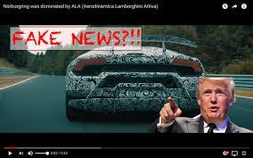 fake lamborghini vs real blog did lambo u201cfake u201d that laptime bridgetogantry com