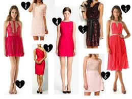 valentines day dresses a collection of romatic combinations for s