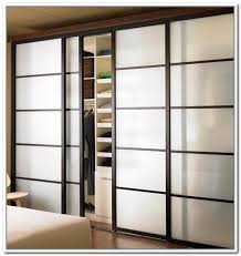 Frosted Closet Door Frosted Glass Bifold Doors For Closet Farmhouse Design And