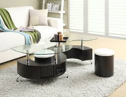 the brick coffee tables seradala coffee table with two ottomans ottomans footrest and bricks