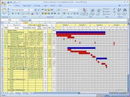 Excel Template Gantt Chart 4 Free Gantt Chart Excel Template Ganttchart Template