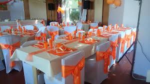 salle mariage 44 decoration de mariage en orange idées et d inspiration sur le