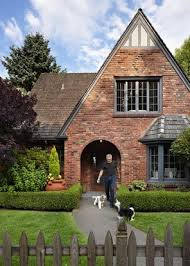 good grayish brown paint for trim on brick house google search