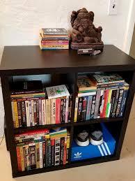 stacks of books on display