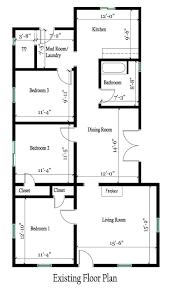 bedroom house floor plans with garage2799 room plan event remix