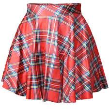 Scotch Plaid Shop Red Tartan Plaid Skirt On Wanelo