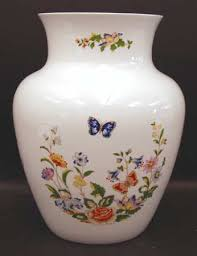 Aynsley China Vase Aynsley John Cottage Garden At Replacements Ltd Page 1