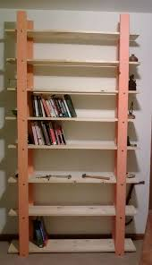 Simple Wooden Shelf Design by Cheap Easy Low Waste Bookshelf Plans 5 Steps With Pictures