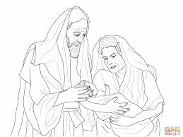 coloring page abraham and sarah preschool craft for abraham and sarah abraham sarah and isaac