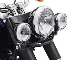harley davidson lights accessories 68000026 auxiliary lighting kit gloss black at thunderbike shop