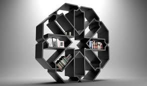 Stylish Bookshelf Zelli Bookshelf Takes Inspiration From Zellige Mosaic Graphics