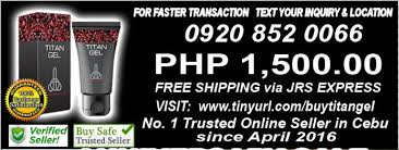 buying titan gel for sale in cebu city cebu used philippines